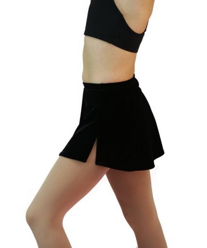 Chloe Figure Skating Velvet Skirt
