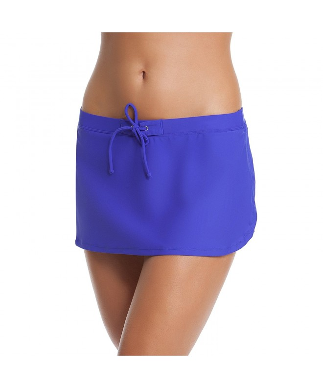 Gossip Solids Skirtini Blue Violet