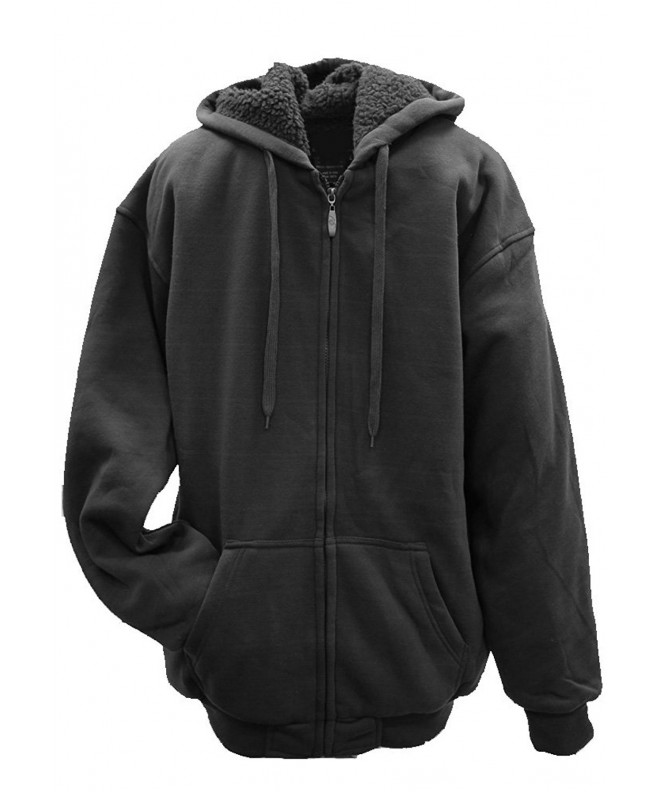Apparel Womens Sherpa Hoodie Charcoal