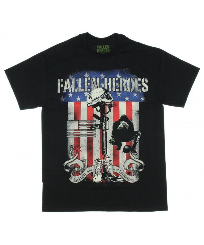 Fallen Heroes Forgotten Graphic T Shirt