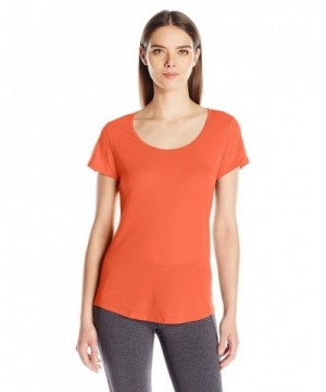 Lucy Womens Short Sleeve Workout