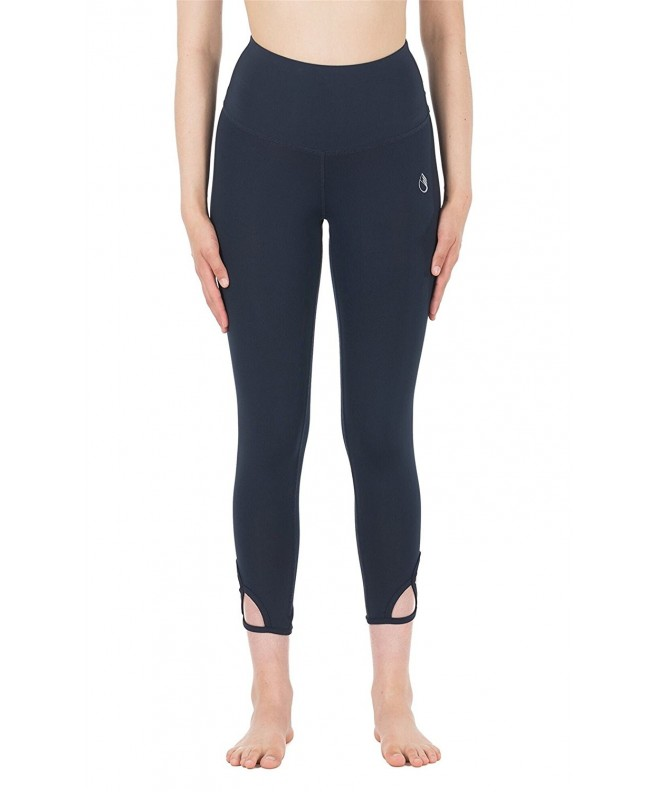 icyzone Waisted Workout Leggings Blueberry