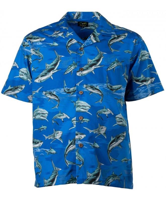 Bennys Mens Sharks Parrothead Navy