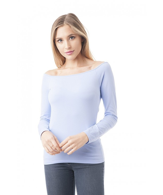 Long Sleeve Shoulder OneSize Periwinkle