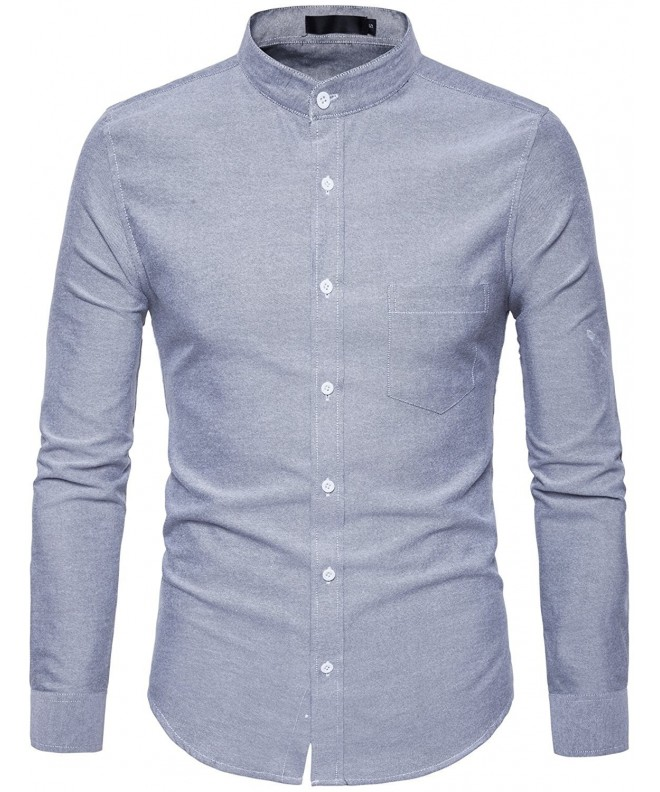 Whatlees Hipster Mandarin Collar Sleeve