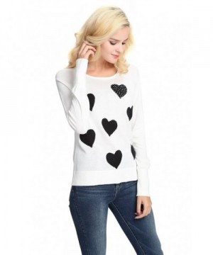 YTUIEKY Sweaters Pullover Sweater Patchwork