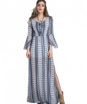 Persun Color Block Print Dress