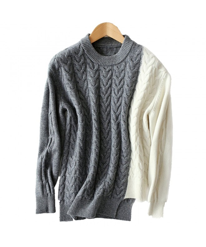 VenuStar Sweater Pullover Irregular Stylish
