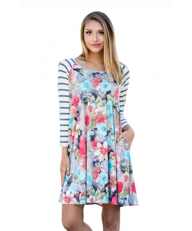 Corala Casual Sleeve Floral T shirt