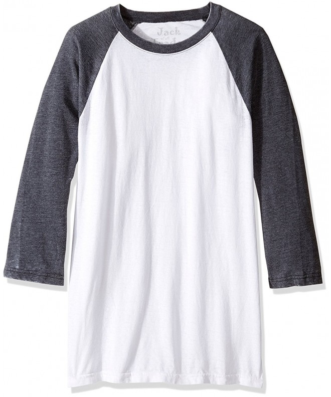 Jack Trades Burnout Raglan Heather