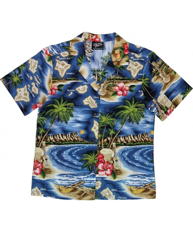 RJC Womens Hibiscus Hawaiian Island