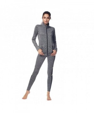 BELLEZIVA Womens Pullover Tracksuits Heather