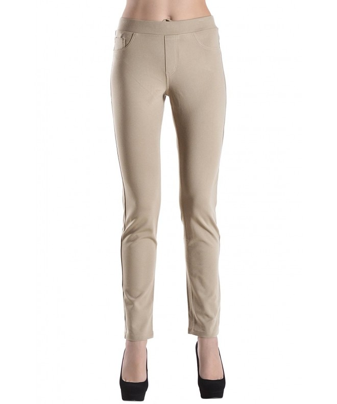Collective Womens Ponte Stretch Ponte Stone