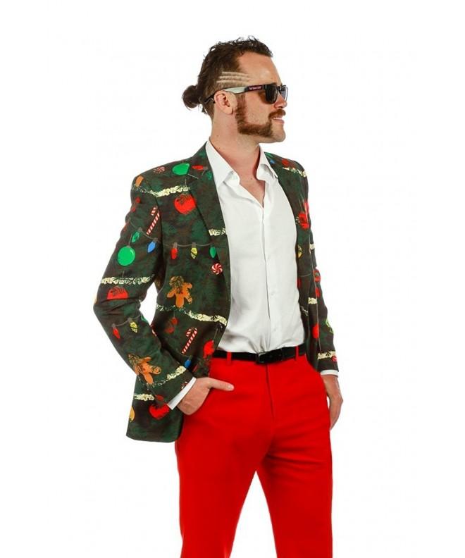 Shinesty Christmas Blazer Jacket Large