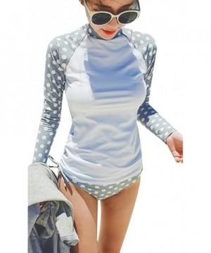 ilishop Womens Protection Long Sleeve Rashguard