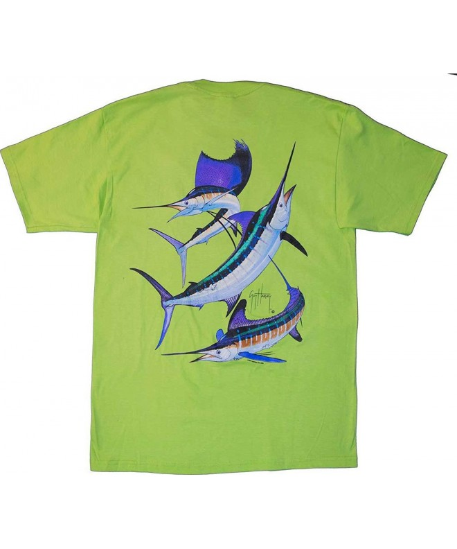 Guy Harvey Grand Back Print Pocket Free