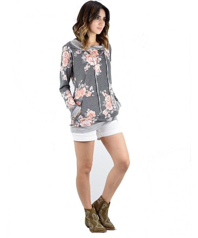 JUSTENA T Shirts Pullover Lightweight Sweatshirts