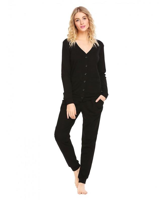 Ekouaer Womens Button Cardigan Sweater