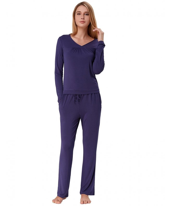 Women Solid Cotton Loungewear Sleeve