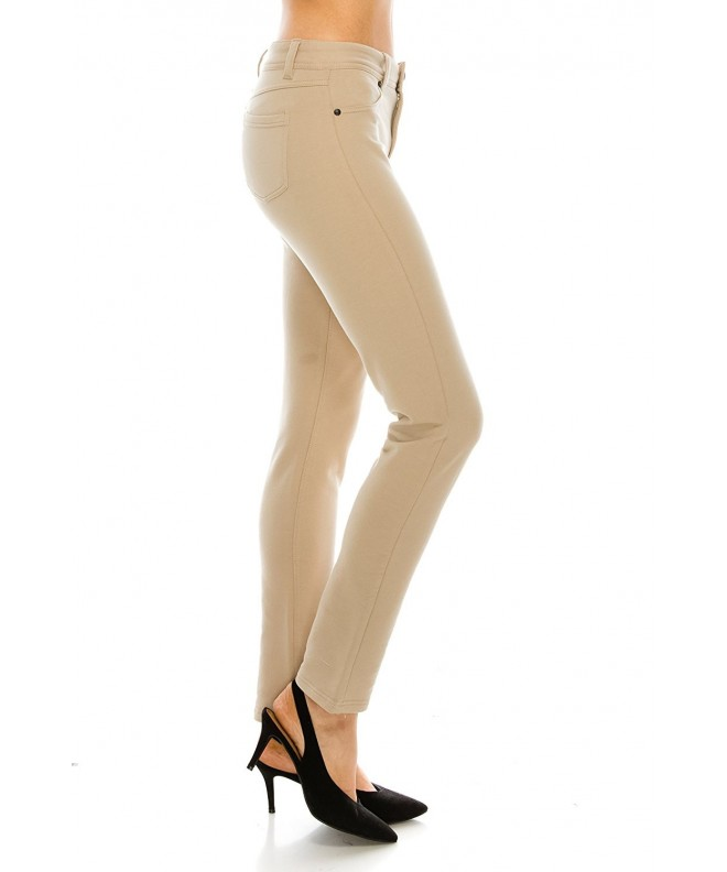 2020AVE Womens Waisted Jegging Pants