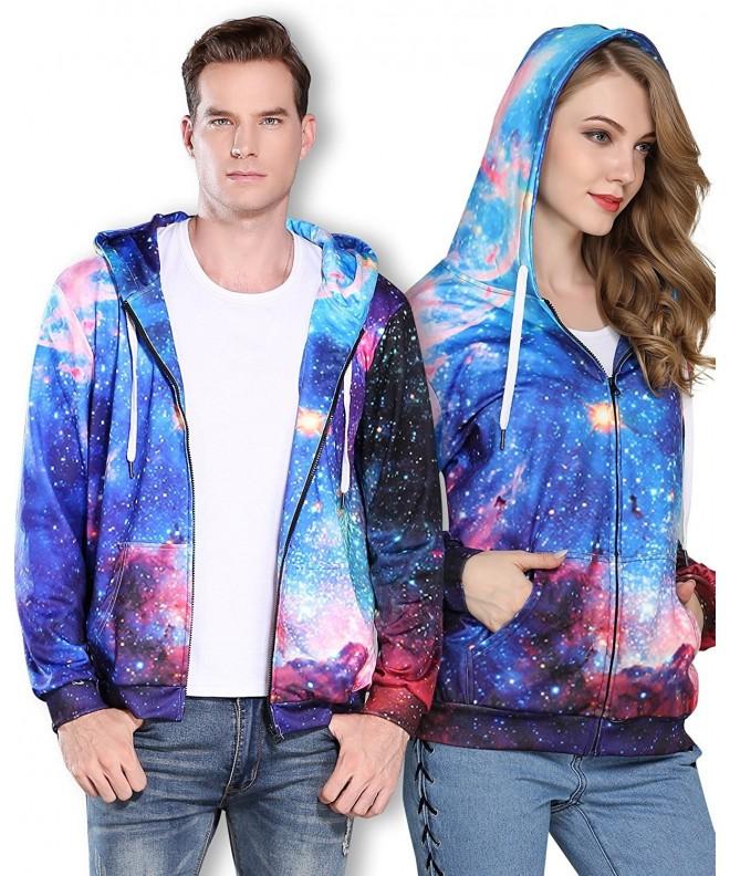 Sankill Unisex Galaxy Sweatshirt Pullover