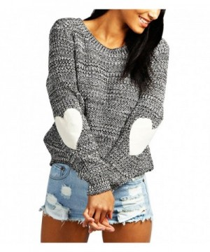 Pattern Patchwork Sleeve Sweater Pullovers