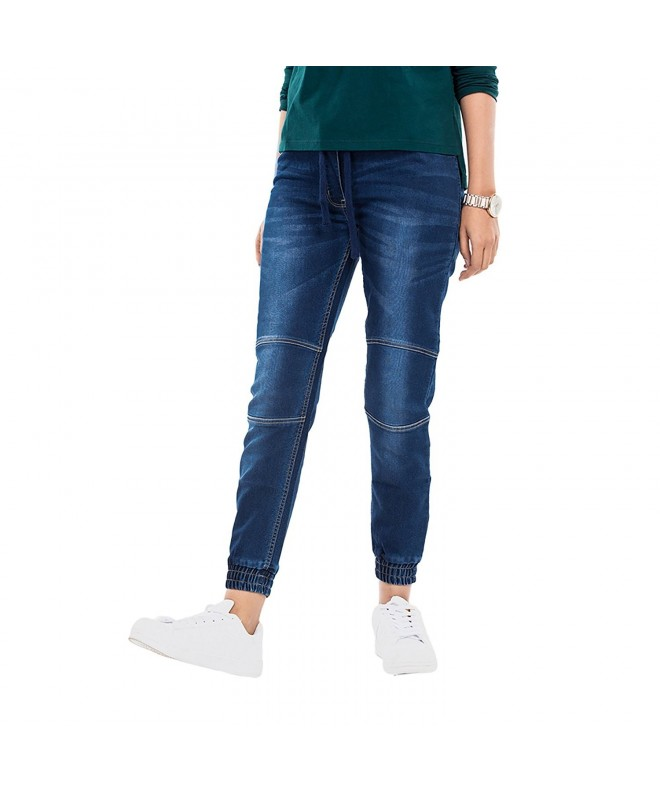 Bewakoof Womens Denim Jogger Pants