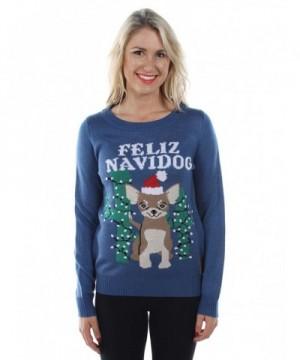 Tipsy Elves Navidog Christmas Sweater