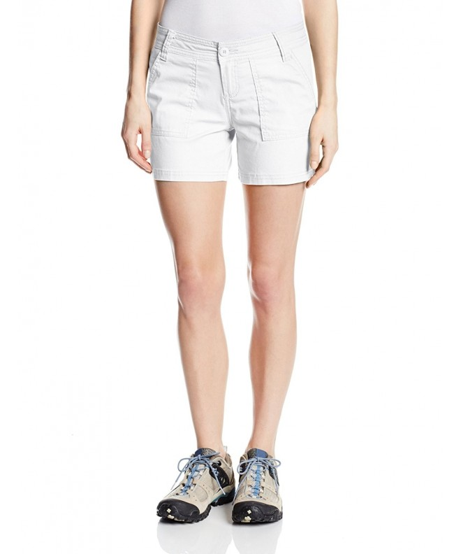 prAna Living Womens Shorts White