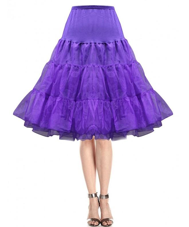 promdressesol Rockabilly Petticoat Underskirt Medium Large