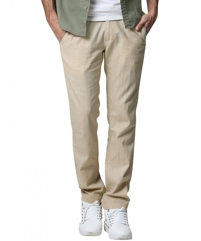 Match Tapered Casual Trouser Apricot