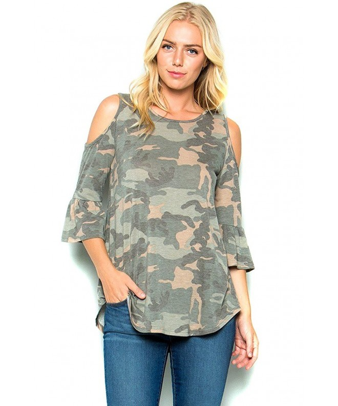 Modern Kiwi Camouflage Sleeve Shoulder