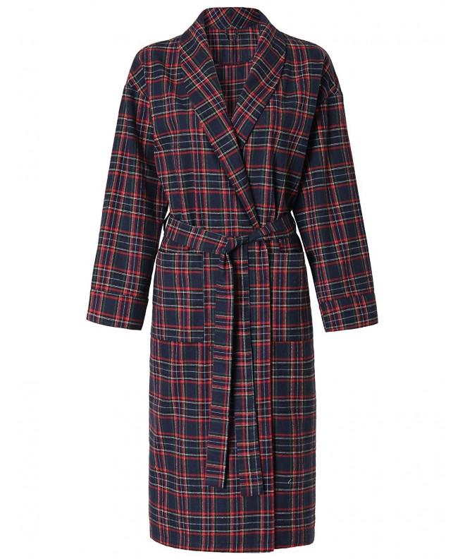 Latuza Womens Cotton Flannel Robe
