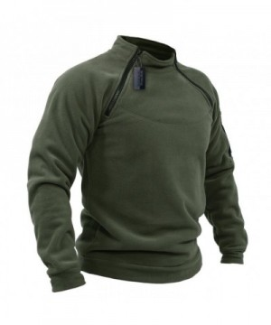 Designer Men's Fleece Coats Online