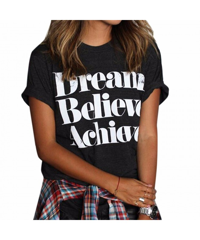 Womens Junior Cotton Printed T Shirt