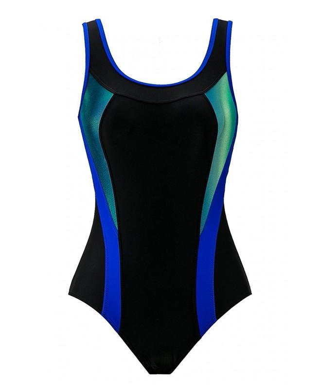 Saejous Athletic Training Swimwear Swimsuits