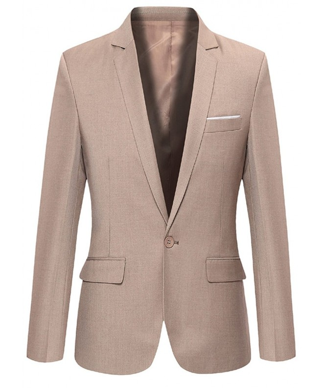 FEHAAN Casual Button Business Blazers