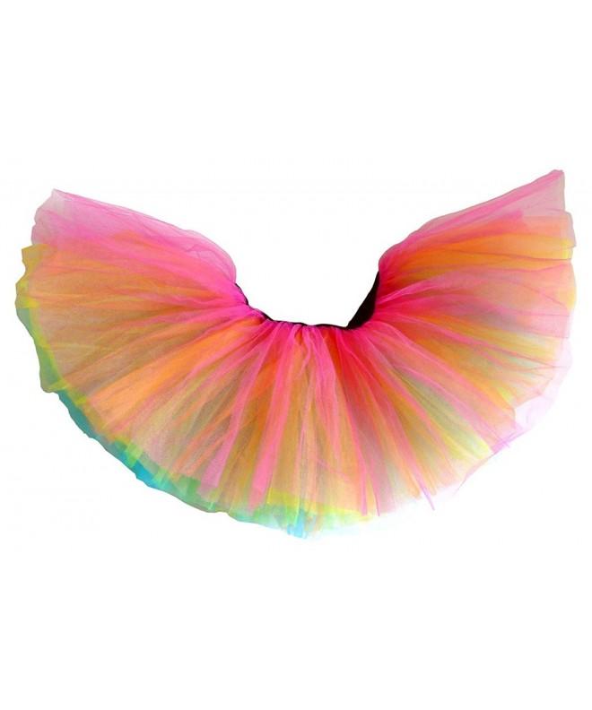 Dancina Adult Classic Layer Rainbow