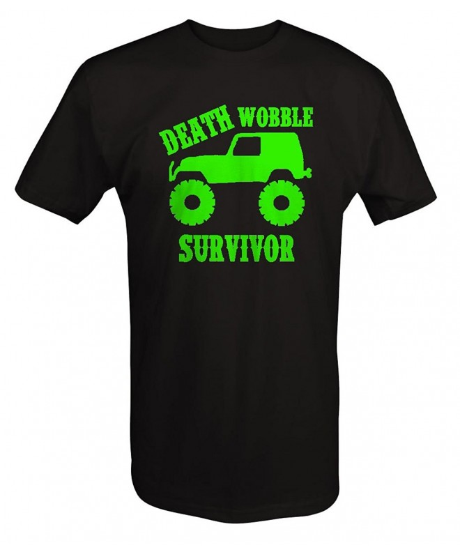 LIME Jeep Wrangler Wobble Survivor T ShirtT