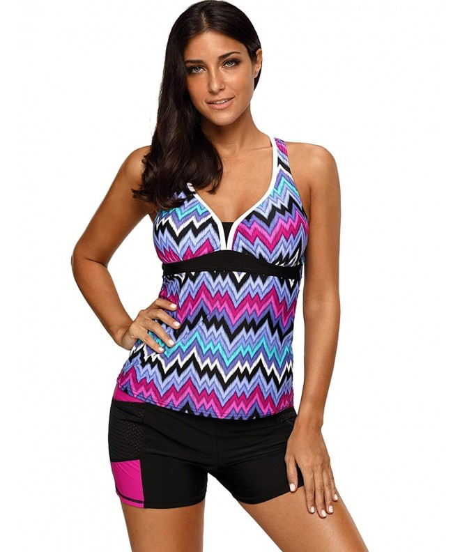 Maketina Athletic Racerback Swimwear Swimsuit