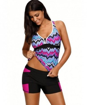 Designer Women's Tankini Swimsuits