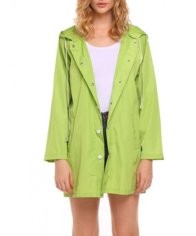 Flyerstoy Lightweight Waterproof Windproof Raincoat