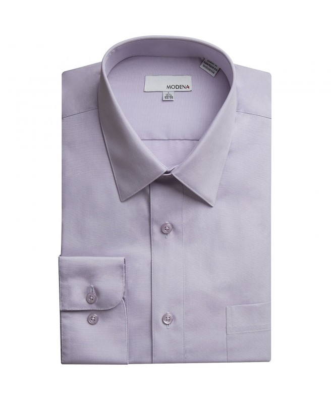 Modena Sleeve Dress Shirt Lavender