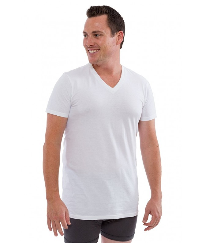 TexereSilk Organic Cotton V Neck Undershirt