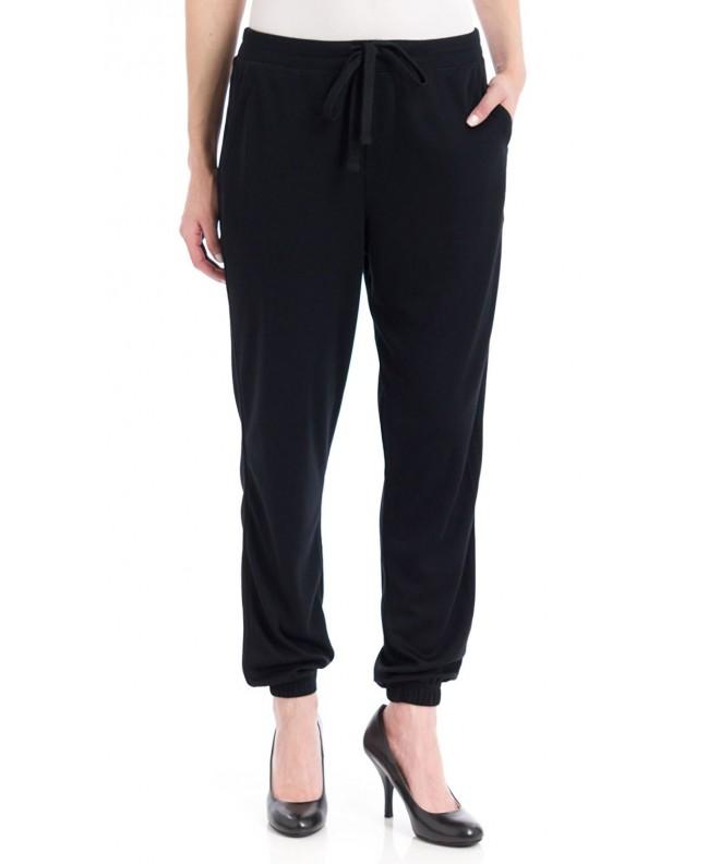 Womens Chill Jersey Sweatpants Black