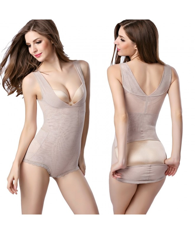 FOUMECH Womens Shapewear Seamless Bodysuit
