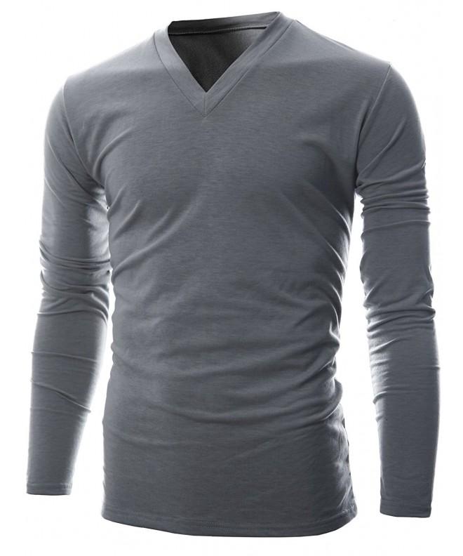 GIVON Lightweight Thermal T Shirt DCP043 GRAY XL