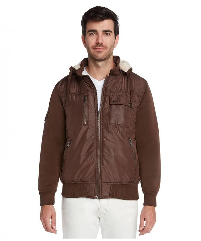 Maximos Riley Casual Jacket Brown Khaki Medium