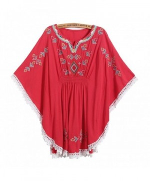 Kafeimali Batwing Peasant Mexican Embroidery
