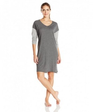 Nautica Womens Cotton Sleepshirt Heather